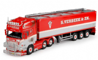 Tekno S Verbeek Scania R series Topline with potato semitrailer